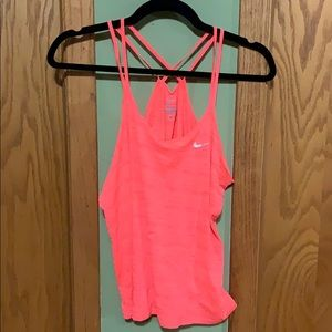 Pink Nike Workout Tank
